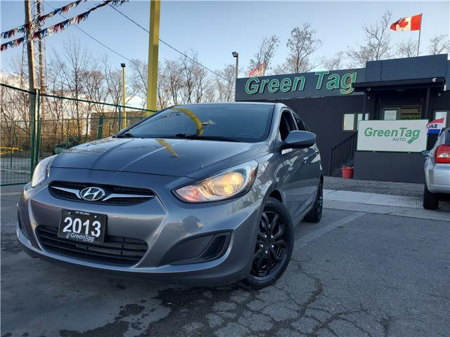 2013 Hyundai Accent GL (Stk: 5539) in Mississauga - Image 1 of 21