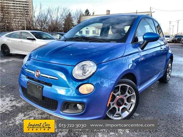 2015 Fiat 500 Sport (Stk: 594742) in Ottawa - Image 1 of 21