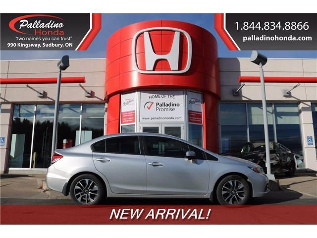 2015 Honda Civic EX (Stk: 22849B) in Sudbury - Image 1 of 1