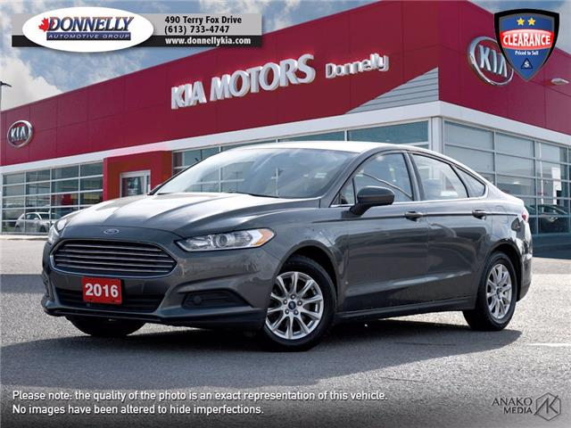 2016 Ford Fusion S 3FA6P0G75GR362639 KT515A in Kanata