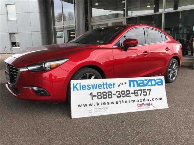 2018 Mazda Mazda3 GT (Stk: 36919A) in Kitchener - Image 1 of 30