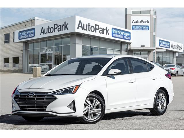2020 Hyundai Elantra Preferred w/Sun & Safety Package (Stk: APR7589) in Mississauga - Image 1 of 20