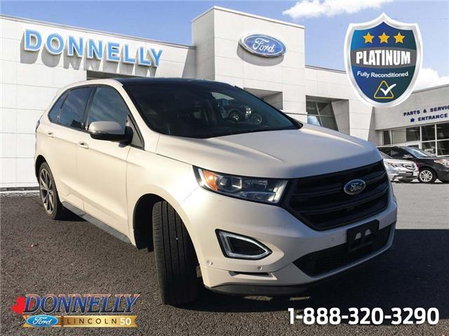 2018 Ford Edge Sport (Stk: PLDT1163A) in Ottawa - Image 1 of 28
