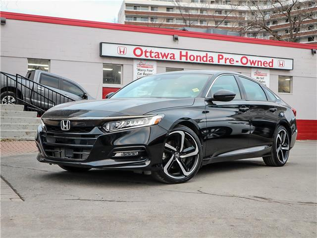 2018 Honda Accord Sport (Stk: H86720) in Ottawa - Image 1 of 29