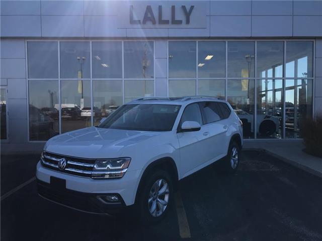 2018 Volkswagen Atlas Leather | Roof | Nav | Rev Cam | Heated Seats (Stk: 00518A) in Tilbury - Image 1 of 26