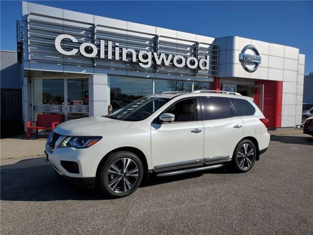2019 Nissan Pathfinder Platinum (Stk: P4666A) in Collingwood - Image 1 of 22