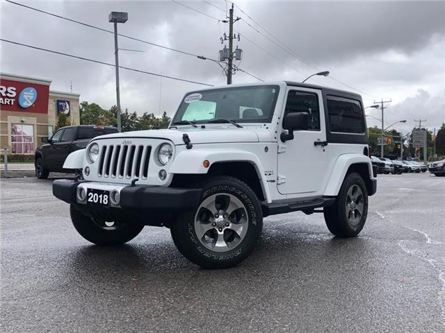 2018 Jeep Wrangler JK Sahara (Stk: W6390) in Uxbridge - Image 1 of 1