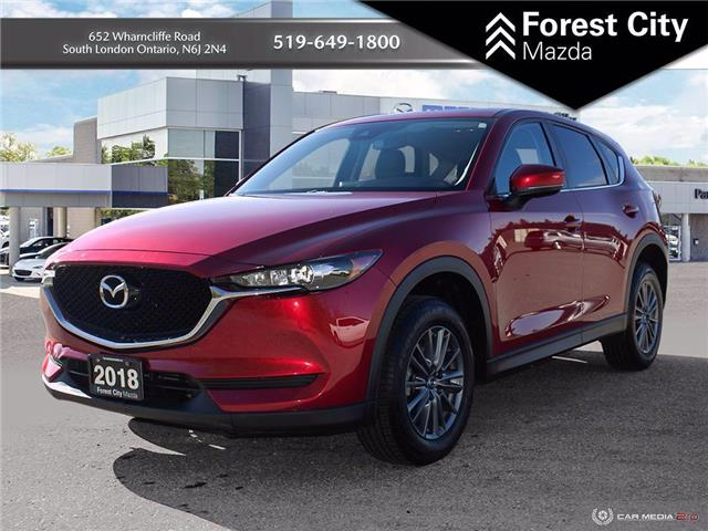 2018 Mazda CX-5 GS (Stk: 21C50755A) in London - Image 1 of 16