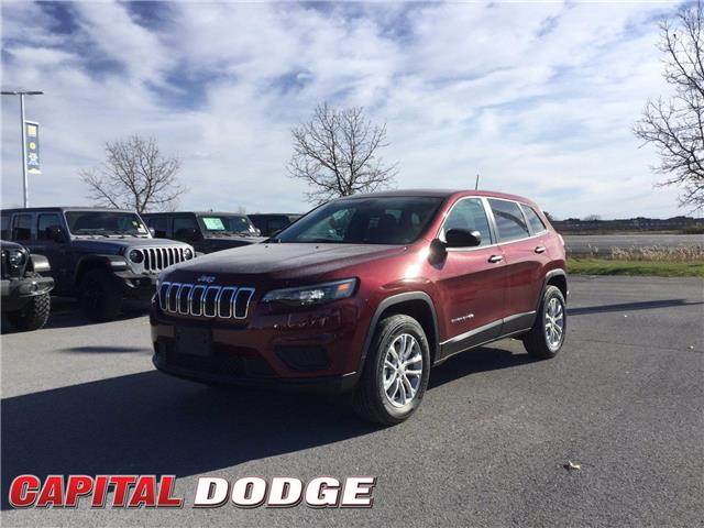 2021 Jeep Cherokee Sport (Stk: M00079) in Kanata - Image 1 of 24