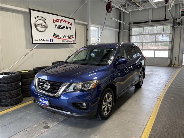 2018 Nissan Pathfinder SV Tech (Stk: 20326A) in Owen Sound - Image 1 of 14