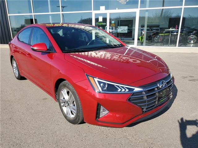2020 Hyundai Elantra Preferred w/Sun & Safety Package (Stk: DR5587N# Ingersoll) in Ingersoll - Image 1 of 29