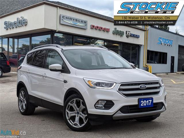 2017 Ford Escape Titanium (Stk: 35063) in Waterloo - Image 1 of 27