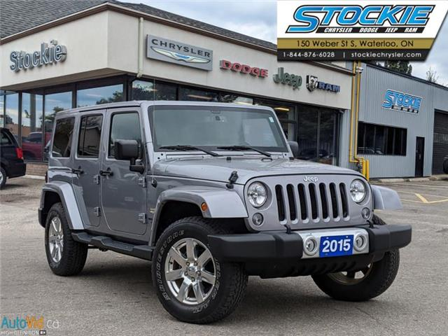 2015 Jeep Wrangler Unlimited Sahara (Stk: 5596) in Waterloo - Image 1 of 25