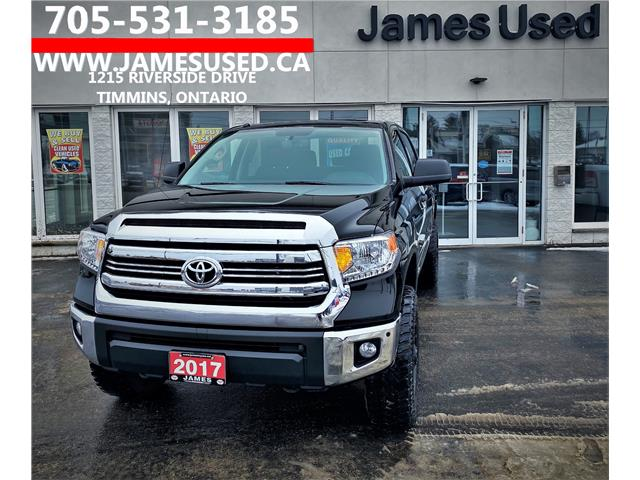 2017 Toyota Tundra SR5 Plus 5.7L V8 (Stk: P02800) in Timmins - Image 1 of 14