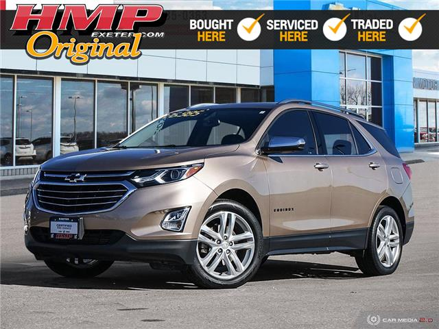 2018 Chevrolet Equinox Premier (Stk: 77589) in Exeter - Image 1 of 27