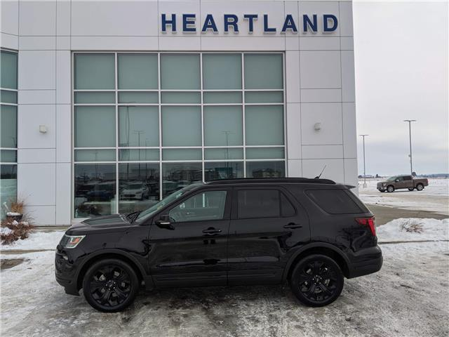 2019 Ford Explorer Sport (Stk: LEX087A) in Ft. Saskatchewan - Image 1 of 30