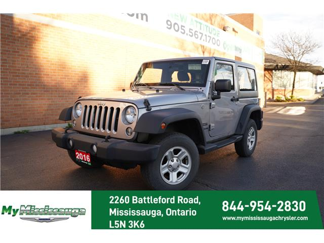 2016 Jeep Wrangler Sport (Stk: 21000A) in Mississauga - Image 1 of 21