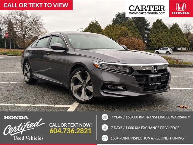 2018 Honda Accord Touring (Stk: 3L58421) in Vancouver - Image 1 of 22