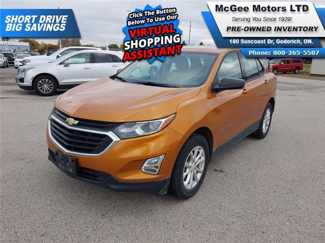 2018 Chevrolet Equinox LS (Stk: 185390) in Goderich - Image 1 of 25