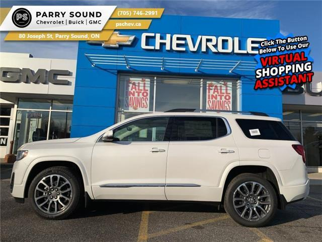 2021 GMC Acadia Denali (Stk: 21-008) in Parry Sound - Image 1 of 22