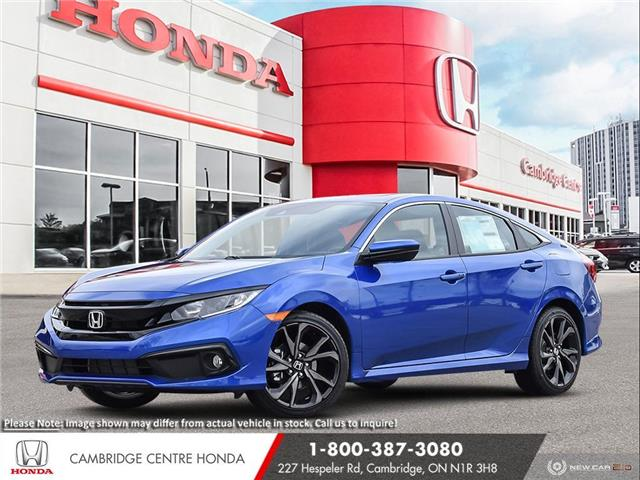 2020 Honda Civic Sport (Stk: 21400) in Cambridge - Image 1 of 24