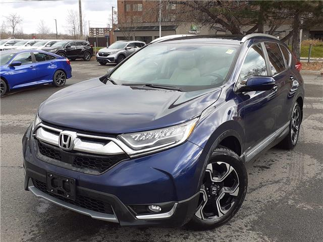 2017 Honda CR-V Touring (Stk: P6035) in Ottawa - Image 1 of 25