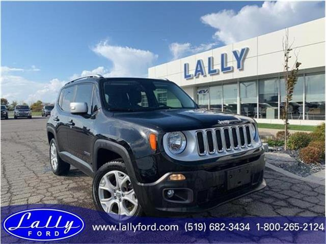 2017 Jeep Renegade Limited (Stk: 26887B) in Tilbury - Image 1 of 21