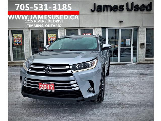 2017 Toyota Highlander XLE (Stk: P02855) in Timmins - Image 1 of 14
