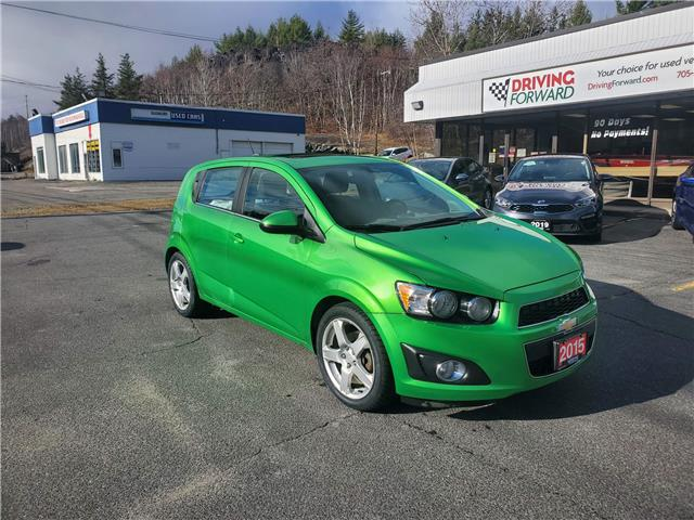 2015 Chevrolet Sonic LT Auto (Stk: df1884) in Sudbury - Image 1 of 15