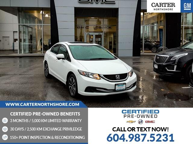 2015 Honda Civic EX (Stk: 974580) in North Vancouver - Image 1 of 26