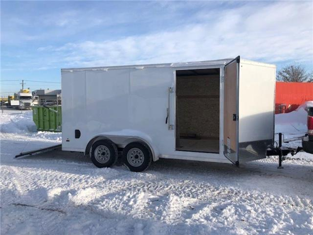 2021 Forest River 7'x14' (plus 2 ft V-nose trailer)  (Stk: 37521) in SASKATOON - Image 1 of 5