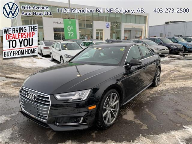 2017 Audi A4 2.0T Technik (Stk: 3607) in Calgary - Image 1 of 30
