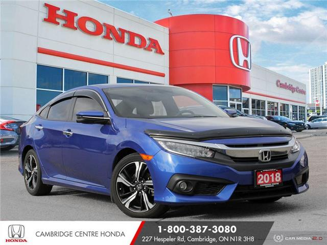 2018 Honda Civic Touring (Stk: 20749A) in Cambridge - Image 1 of 27