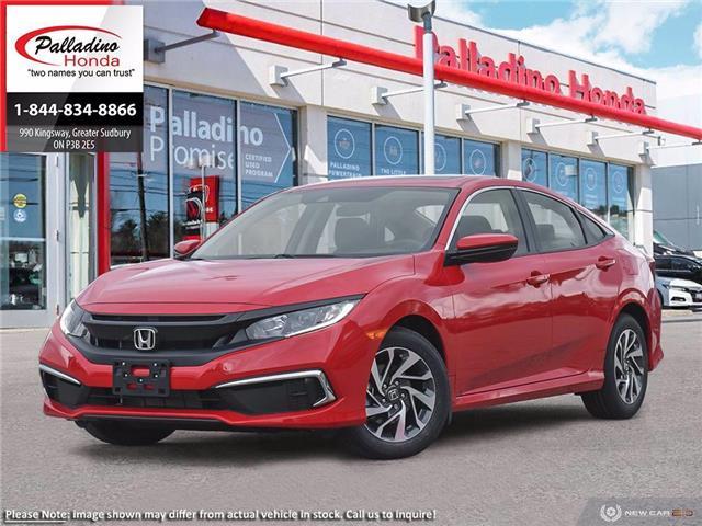 2021 Honda Civic EX (Stk: 22852) in Greater Sudbury - Image 1 of 23