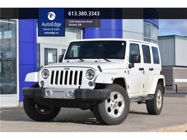 2014 Jeep Wrangler Unlimited Sahara (Stk: A0423) in Ottawa - Image 1 of 24