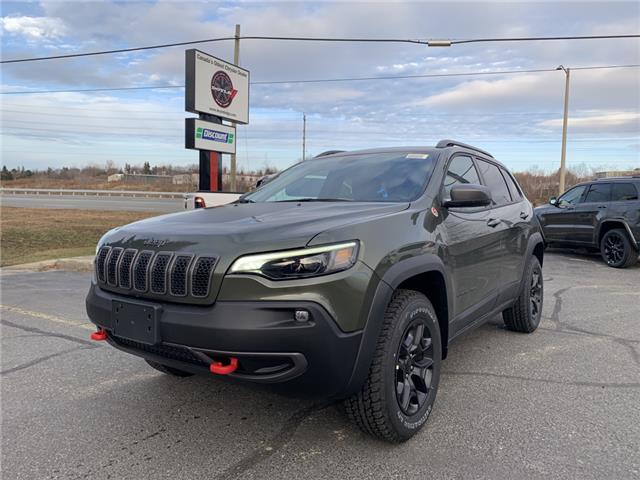 2021 Jeep Cherokee Trailhawk (Stk: 6648) in Sudbury - Image 1 of 21