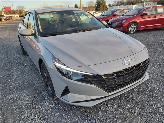 2021 Hyundai Elantra Preferred w/Sun & Safety Package (Stk: R10304) in Ottawa - Image 1 of 14