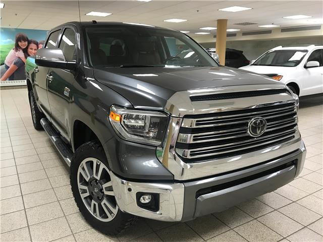 2018 Toyota Tundra Platinum 5.7L V8 (Stk: 190509A) in Calgary - Image 1 of 22