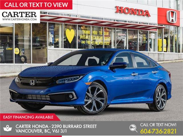 2020 Honda Civic Touring (Stk: 3L54560) in Vancouver - Image 1 of 24