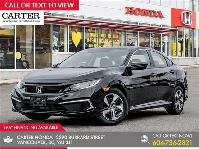2020 Honda Civic LX (Stk: 3L33920) in Vancouver - Image 1 of 24