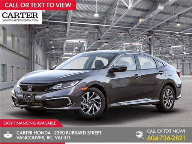 2020 Honda Civic EX w/New Wheel Design (Stk: 3L16510) in Vancouver - Image 1 of 12