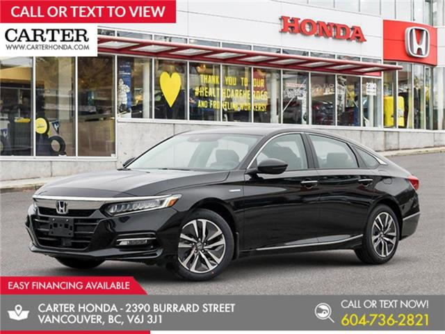 2020 Honda Accord Hybrid Touring (Stk: 6L06130) in Vancouver - Image 1 of 24