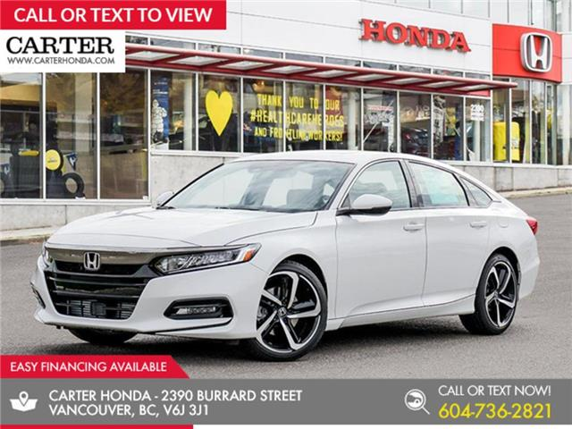 2020 Honda Accord Sport 1.5T (Stk: 6L53230) in Vancouver - Image 1 of 23