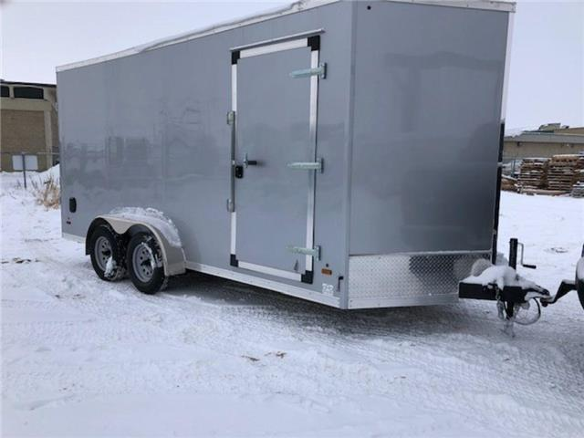 2021 Forest River 7'x16' (plus 2 ft V-nose cargo trailer)  (Stk: 37516) in SASKATOON - Image 1 of 7