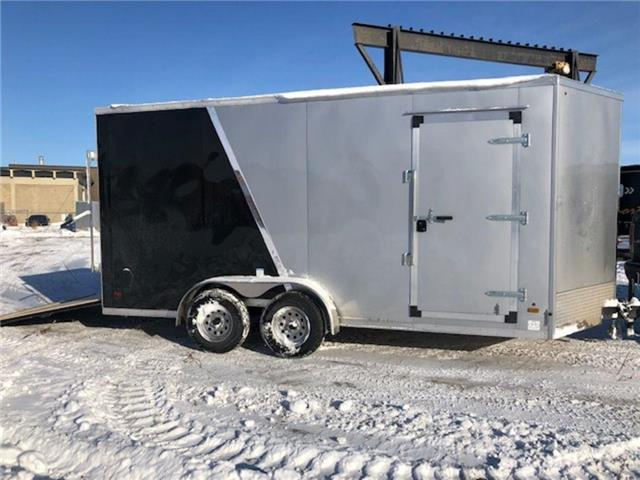 2021 Forest River 7'x16' (plus 2 ft V-nose trailer)  (Stk: 37570) in SASKATOON - Image 1 of 5