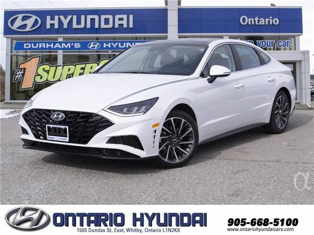 2021 Hyundai Sonata Hybrid Ultimate (Stk: 022449) in Whitby - Image 1 of 24