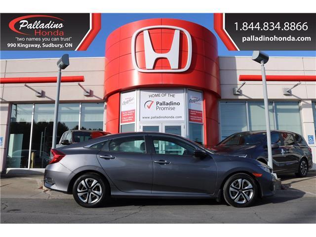 2016 Honda Civic LX (Stk: 22734A) in Greater Sudbury - Image 1 of 29