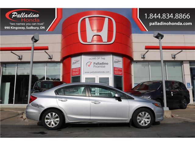 2012 Honda Civic LX (Stk: 22370W) in Greater Sudbury - Image 1 of 21
