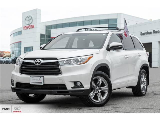2016 Toyota Highlander Limited (Stk: 255361) in Milton - Image 1 of 25