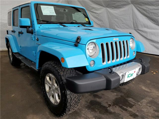 2017 Jeep Wrangler Unlimited Sahara (Stk: I20822) in Thunder Bay - Image 1 of 15